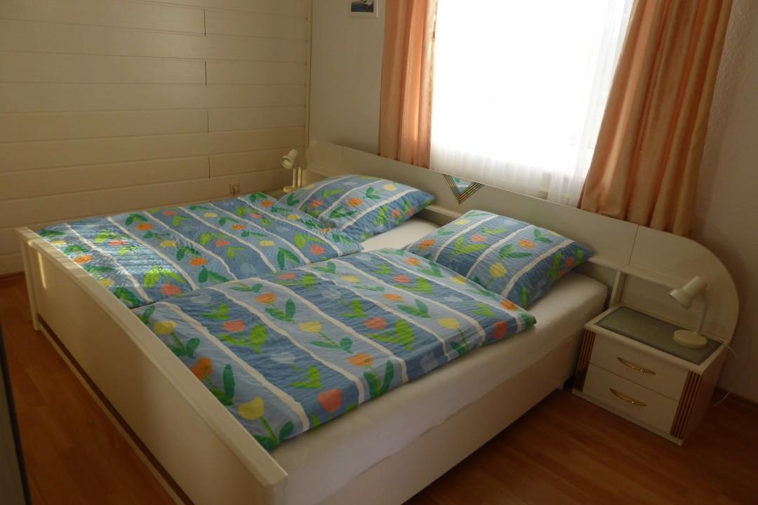 Doppelbett oben