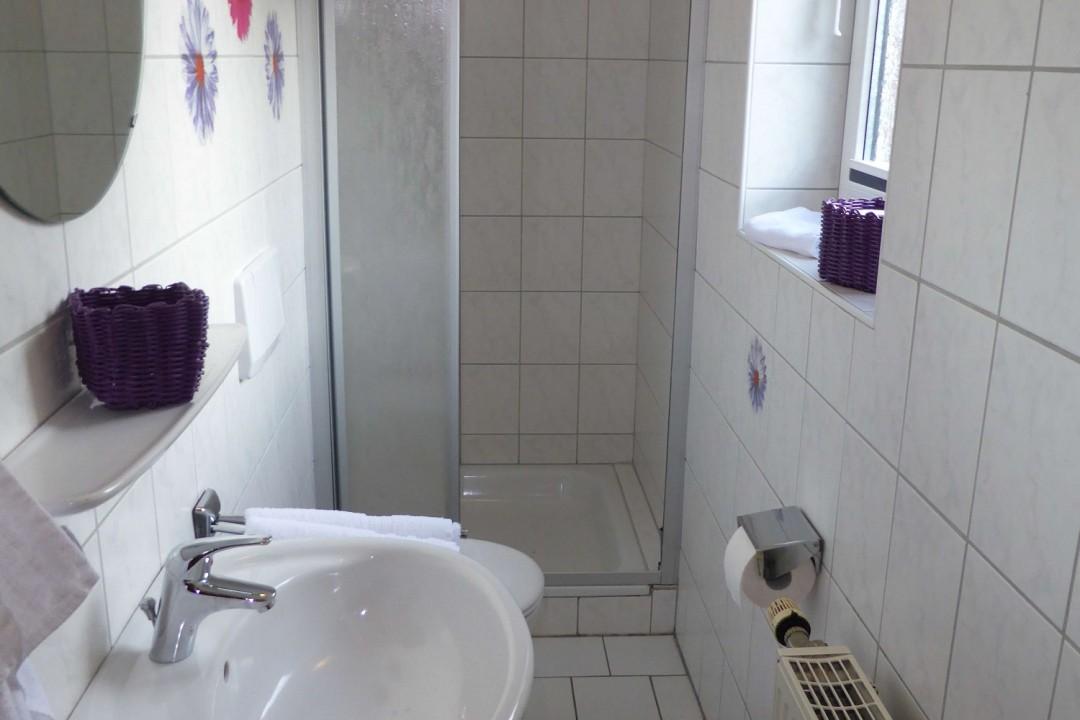 WC/Bad mit Dusche
